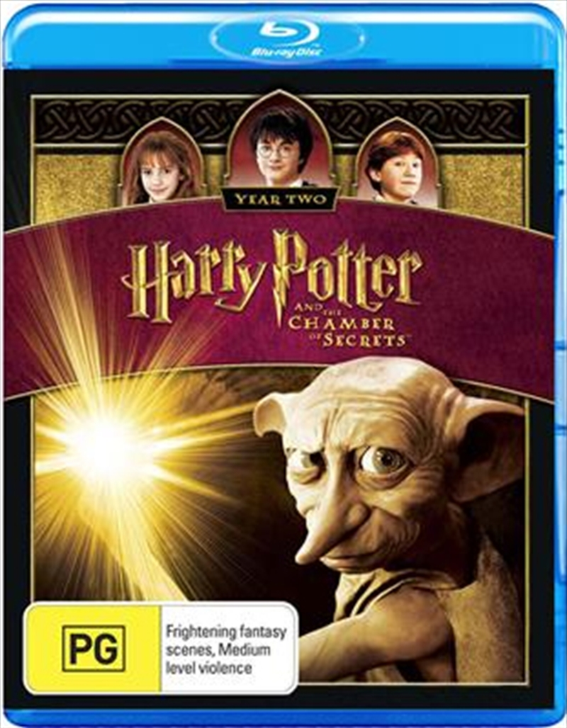Harry Potter & The Chamber Of Secrets | Blu-ray