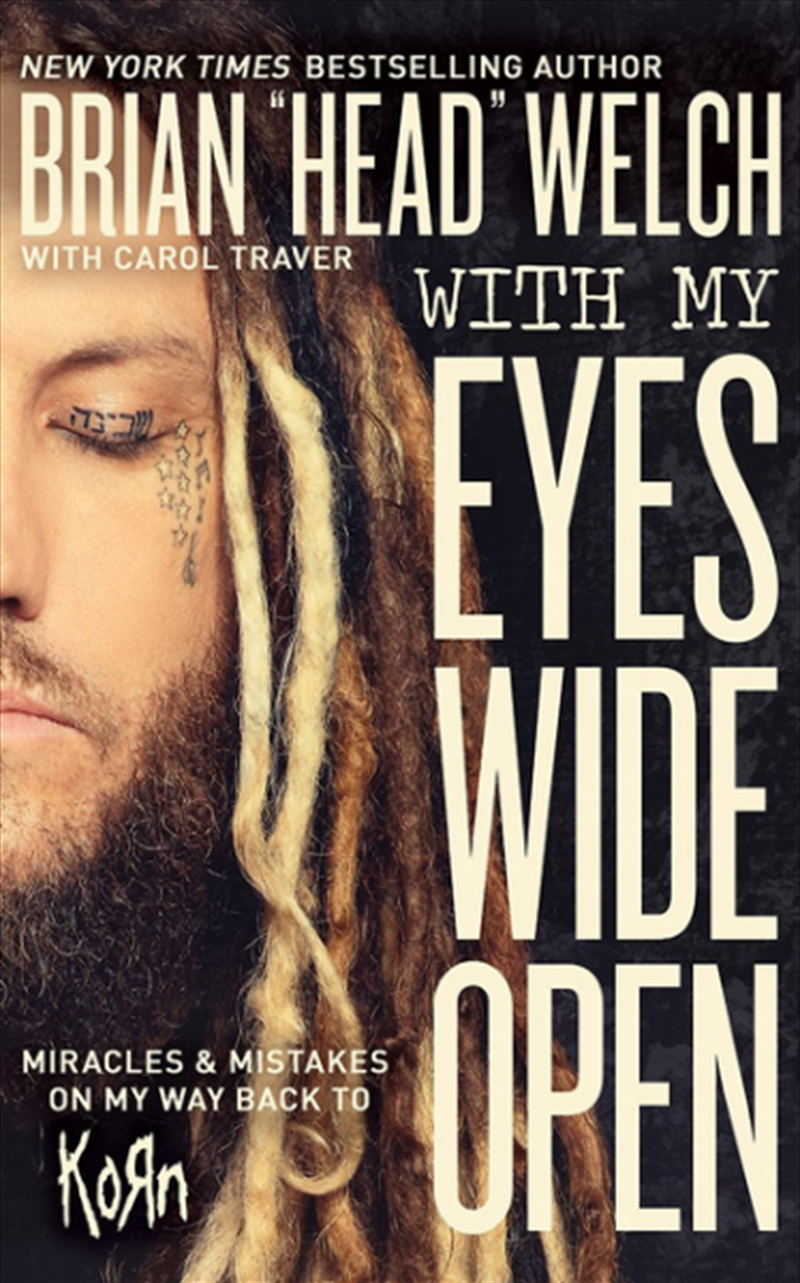 With My Eyes Wide Open | Paperback Book