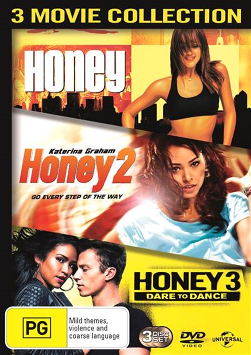 Honey / Honey 2 / Honey 3 - Dare To Dance | DVD