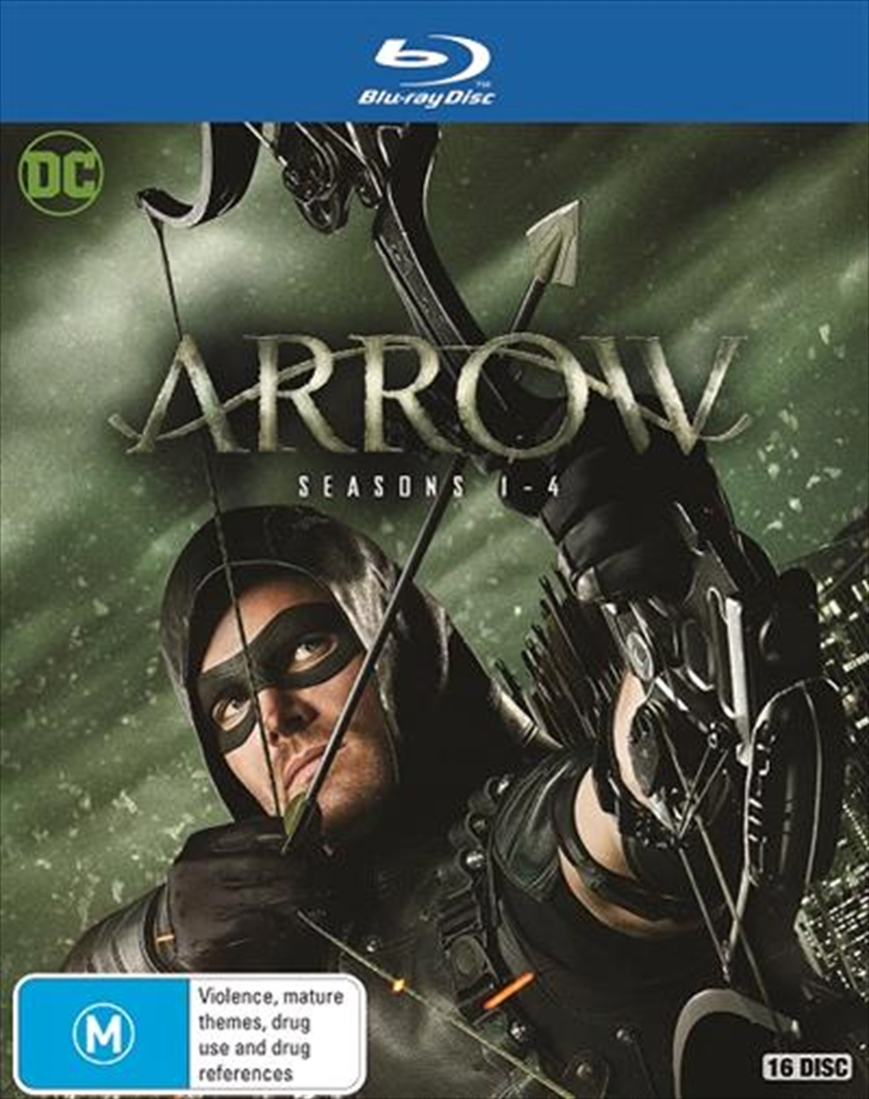 Arrow - Season 1-4 | Boxset | Blu-ray