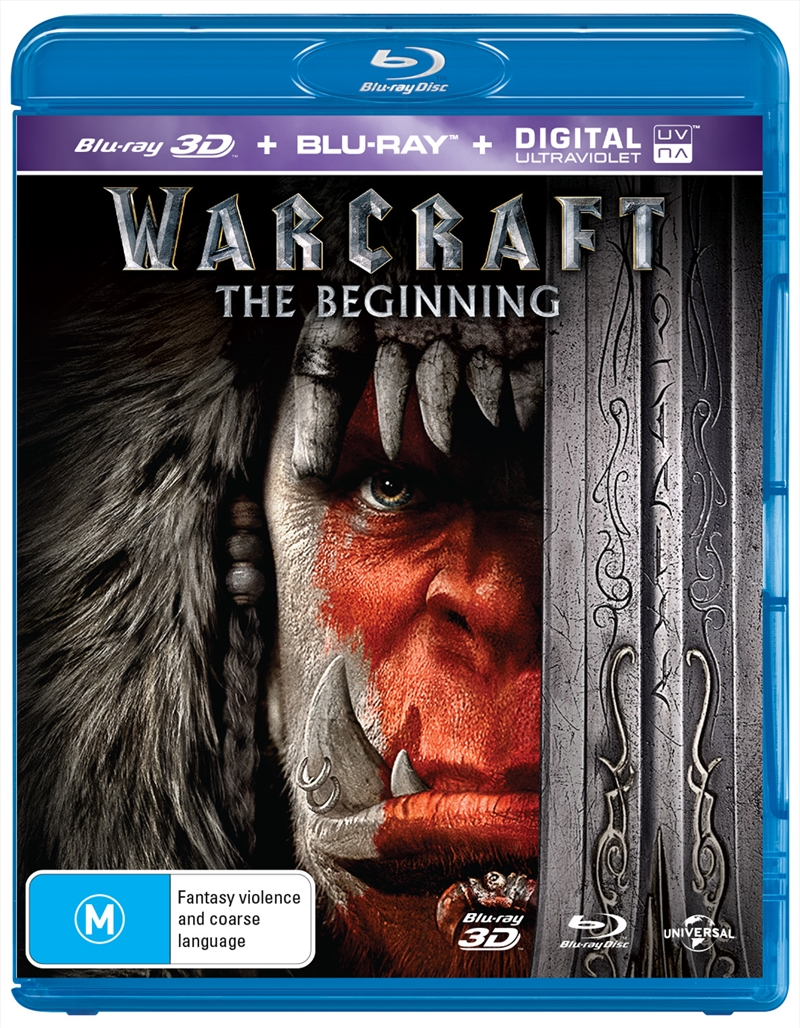 Warcraft (EXCLUSIVE COVER) | Blu-ray 3D