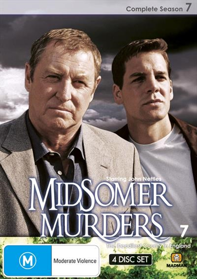 Midsomer Murders - Season 7 | Single Case Version | DVD