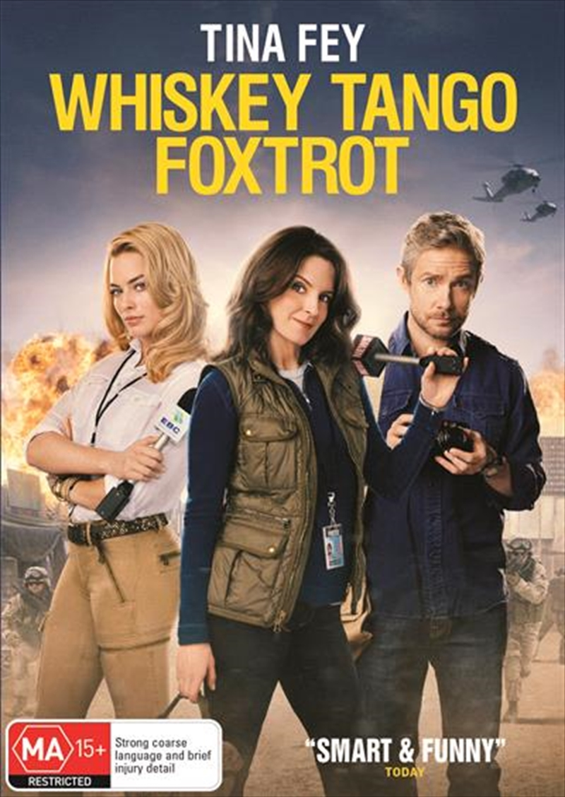 Whiskey Tango Foxtrot | DVD