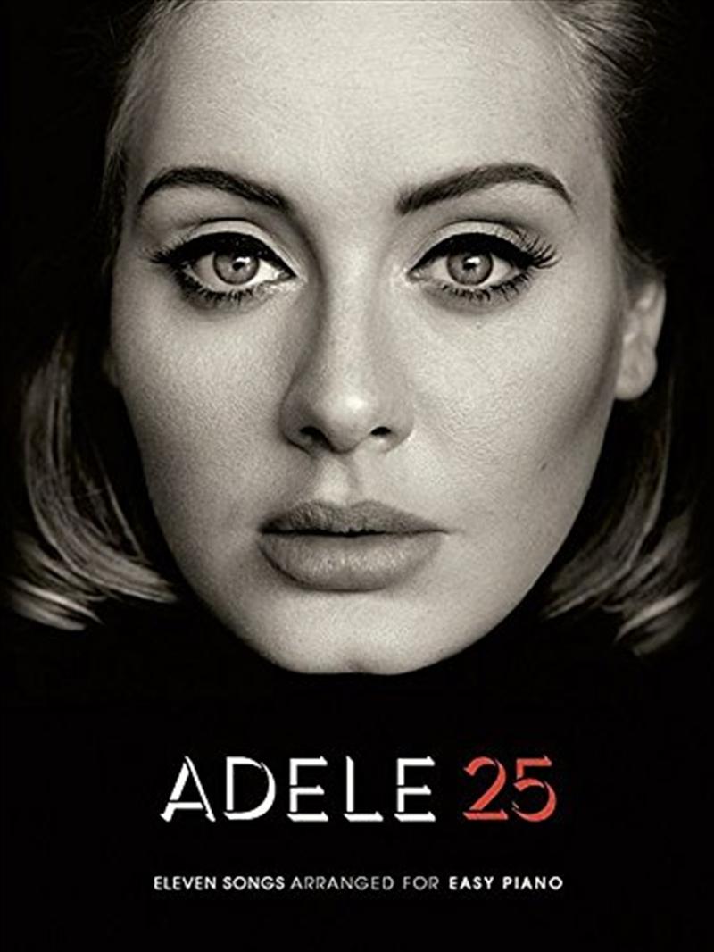 Adele 25: Easy Piano | Paperback Book