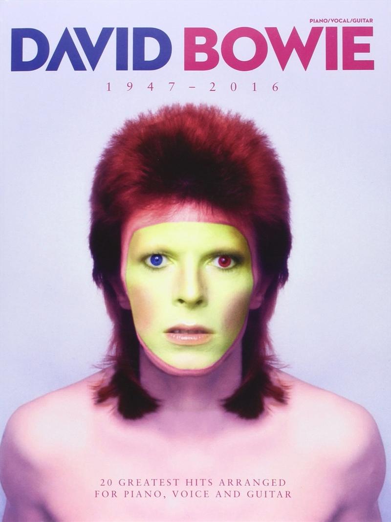 David Bowie: 1947-2016 | Paperback Book