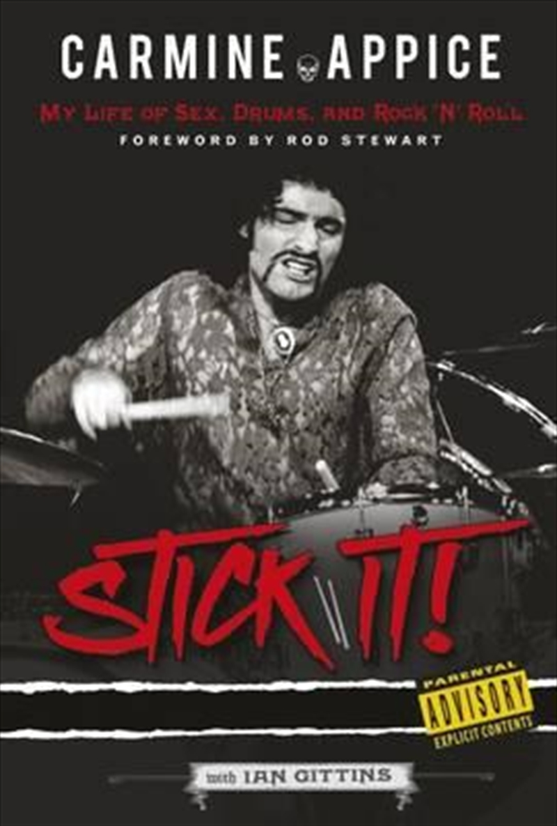 Carmine Appice: Stick It! | Paperback Book