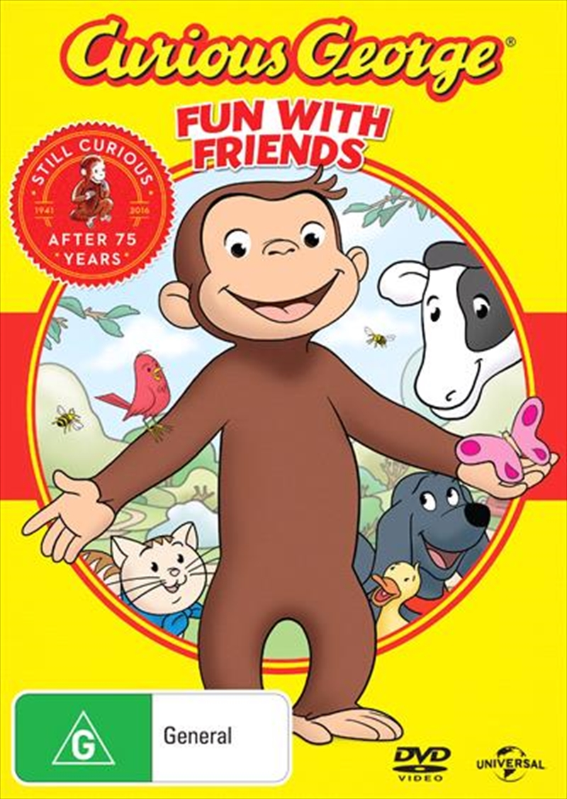 Curious George - Fun With Friends | DVD