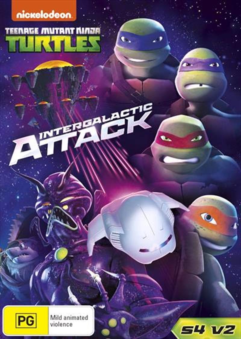 Teenage Mutant Ninja Turtles - Intergalactic Attack | DVD