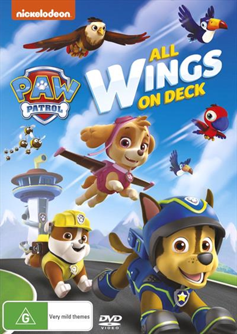 Paw Patrol - All Wings On Deck | DVD