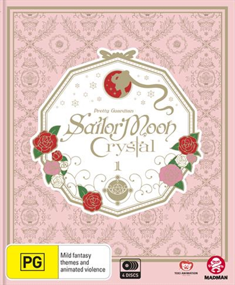 Sailor Moon - Crystal - Set 1 - Eps 1-14 - Limited Edition | Blu-ray/DVD