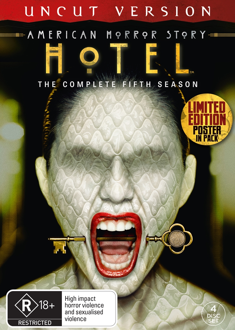 American Horror Story - Hotel - Season 5 (BONUS POSTER)