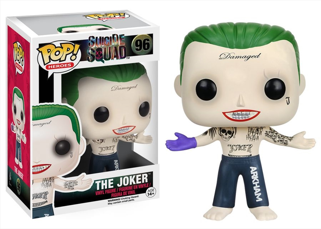 Joker (Shirtless)   Pop Vinyl