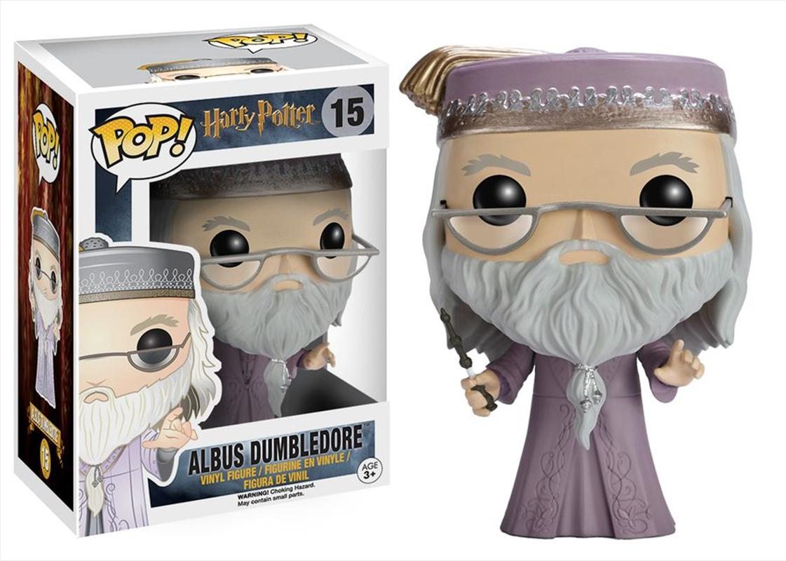 Dumbledore (With Wand) | Pop Vinyl