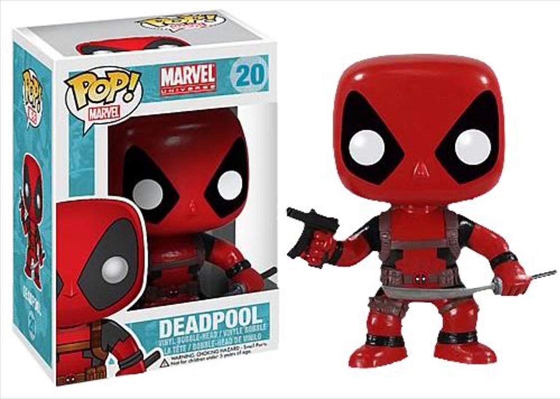 Deadpool: Red | Pop Vinyl