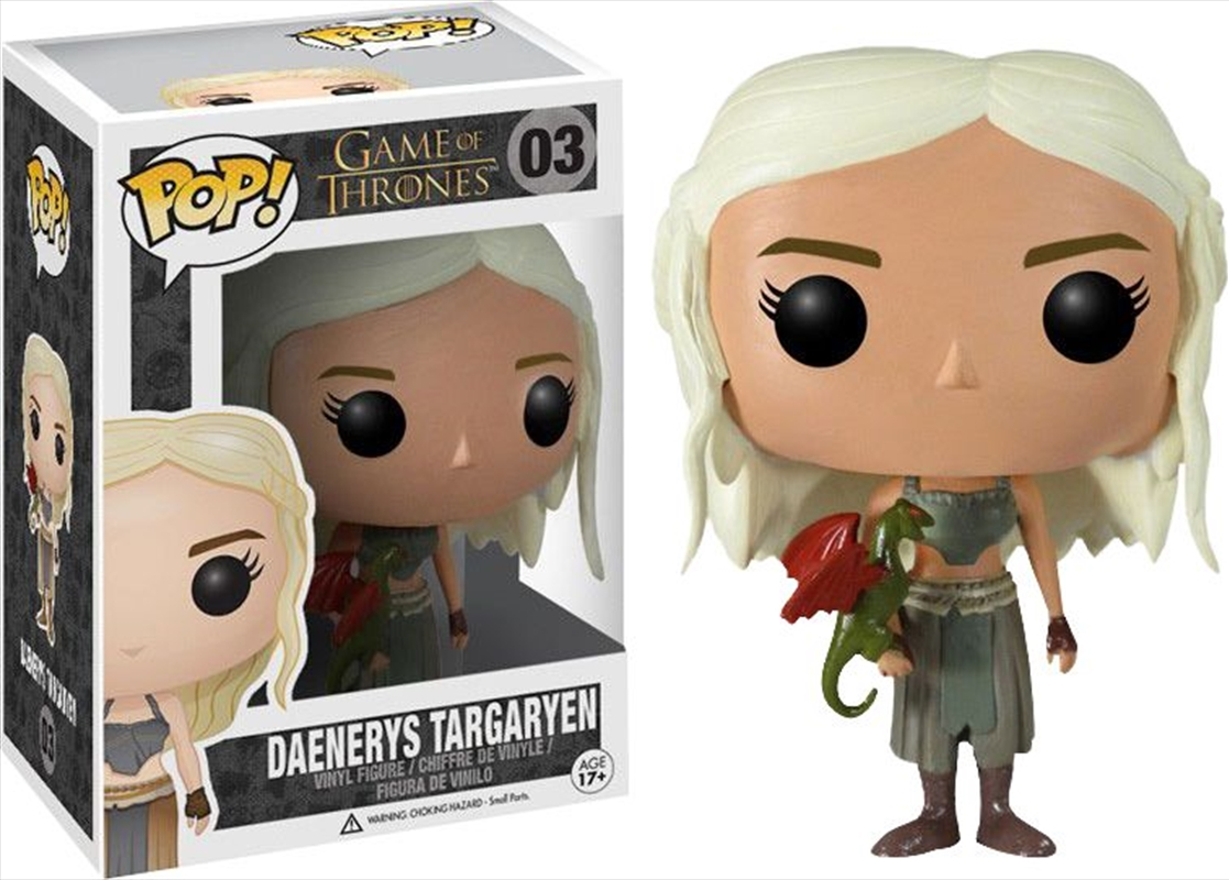 Game Of Thrones - Daenerys | Pop Vinyl