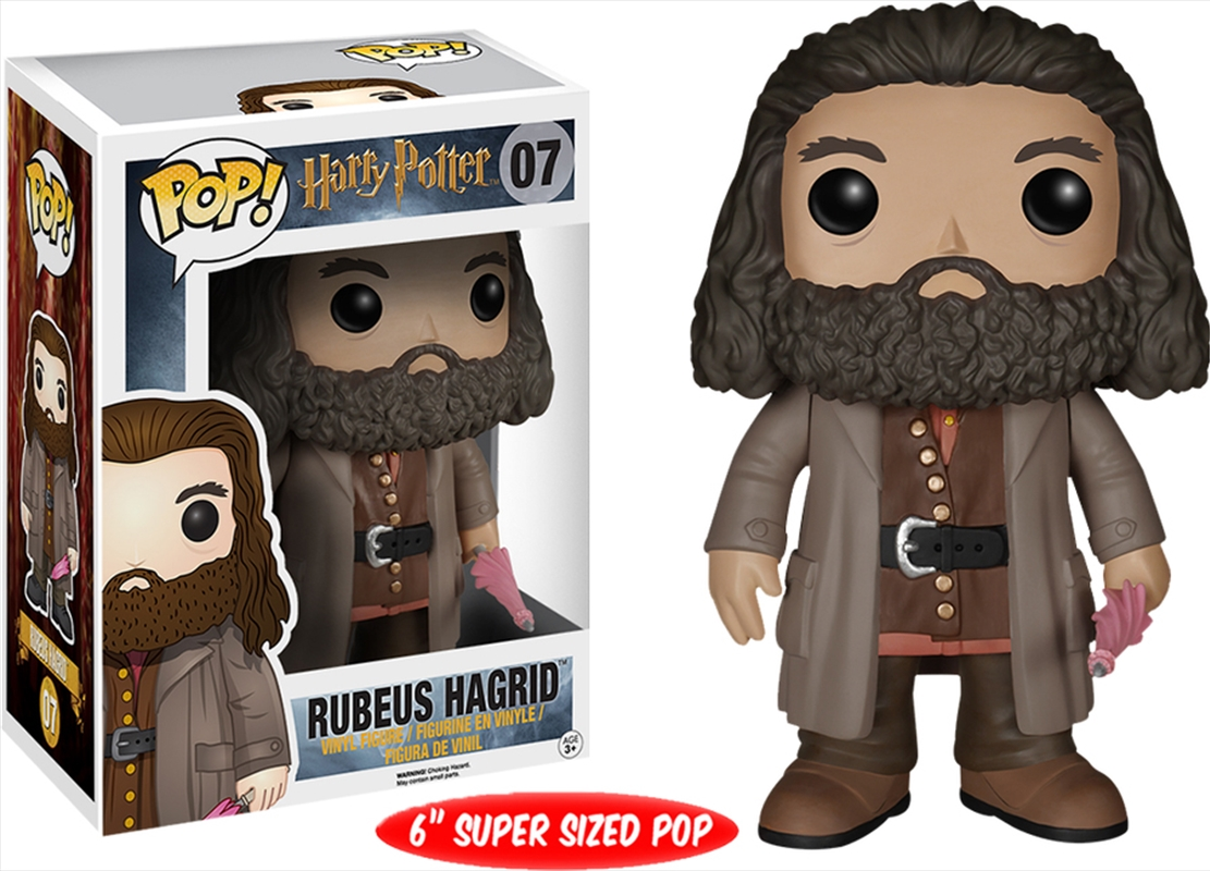 Harry Potter - Rubeus Hagrid | Pop Vinyl