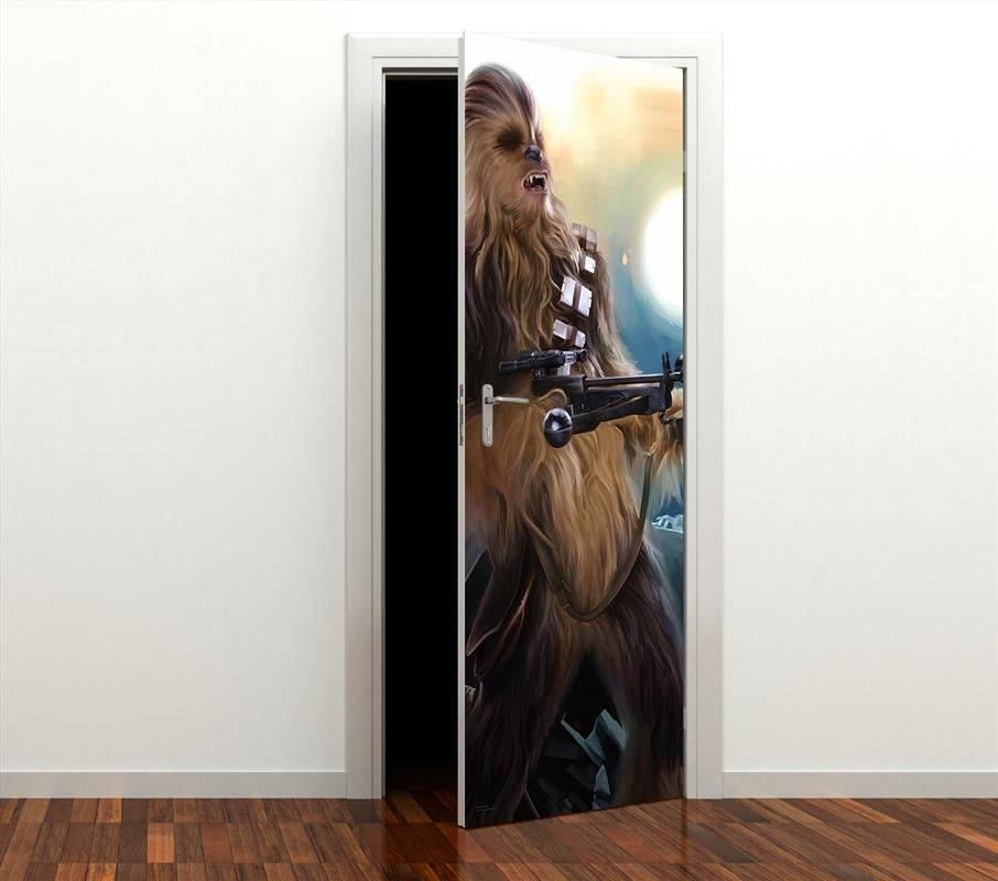Star Wars: Episode 7: Chewie Door Mural | Merchandise