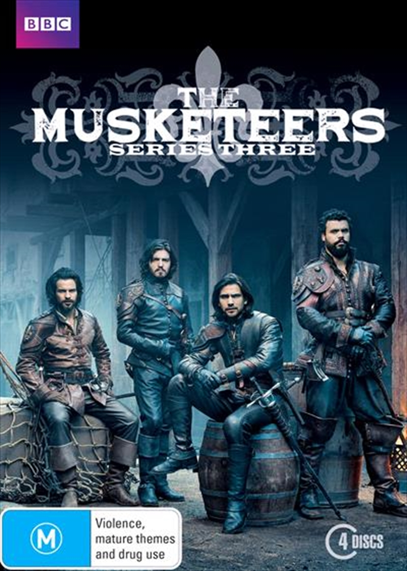 Musketeers - Series 3, The | DVD