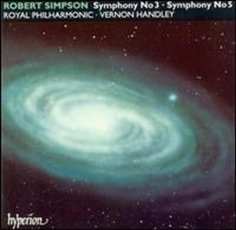 Symphonies No 3 & 5   CD