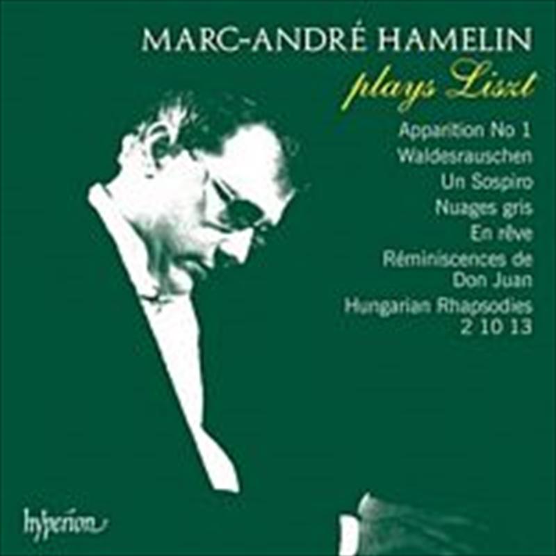 Liszt-Marc-Andre Hamelin   CD