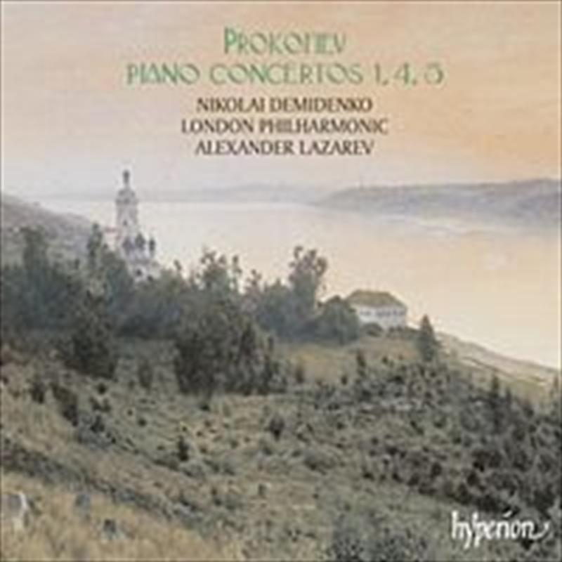 Piano Concerti No.1, 4, 5   CD