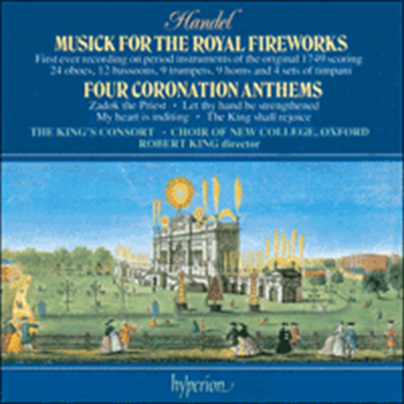 Music For The Royal Fireworks/ Four Coronation Anthems   CD