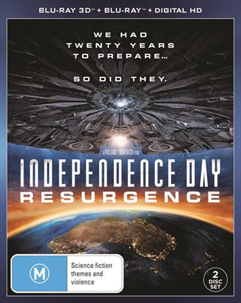 Independence Day - Resurgence | 3D + Blu-ray + UV