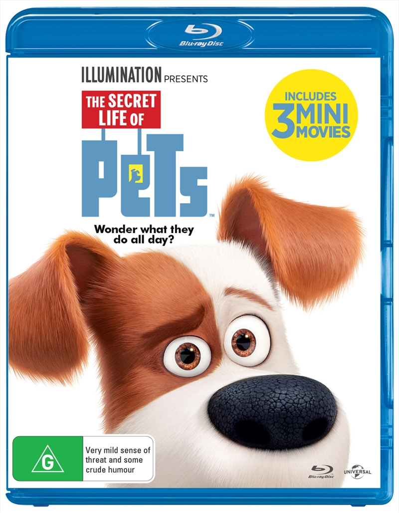 Secret Life of Pets, The (Max Edition) | Blu-ray