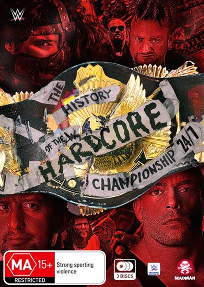 WWE - The History Of The WWE Hardcore Championship - 24/7   DVD