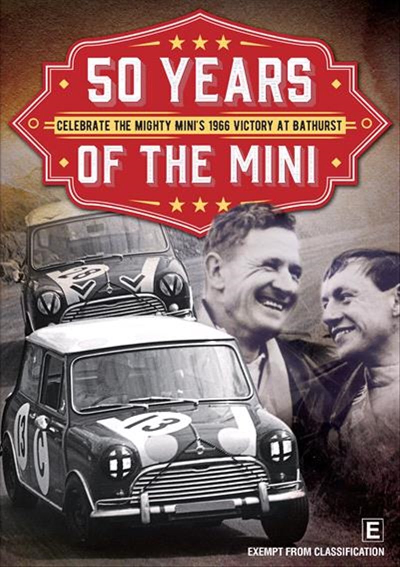 50 Years Of The Mini - Victory At Bathurst | DVD
