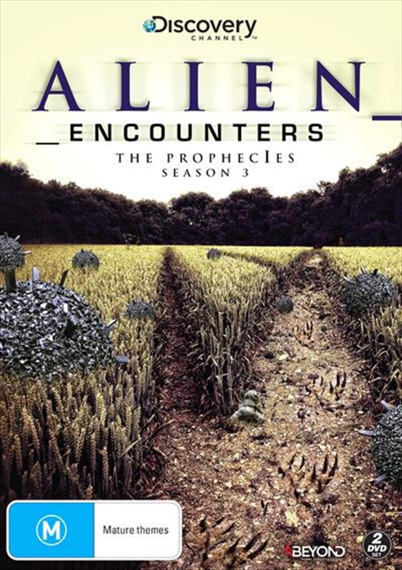Alien Encounters - Season 3   DVD