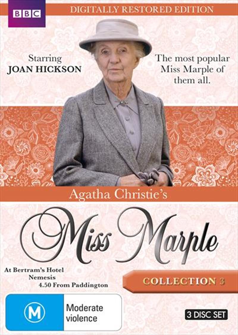 Agatha Christie's Miss Marple - Collection 3   Restored Edition   DVD