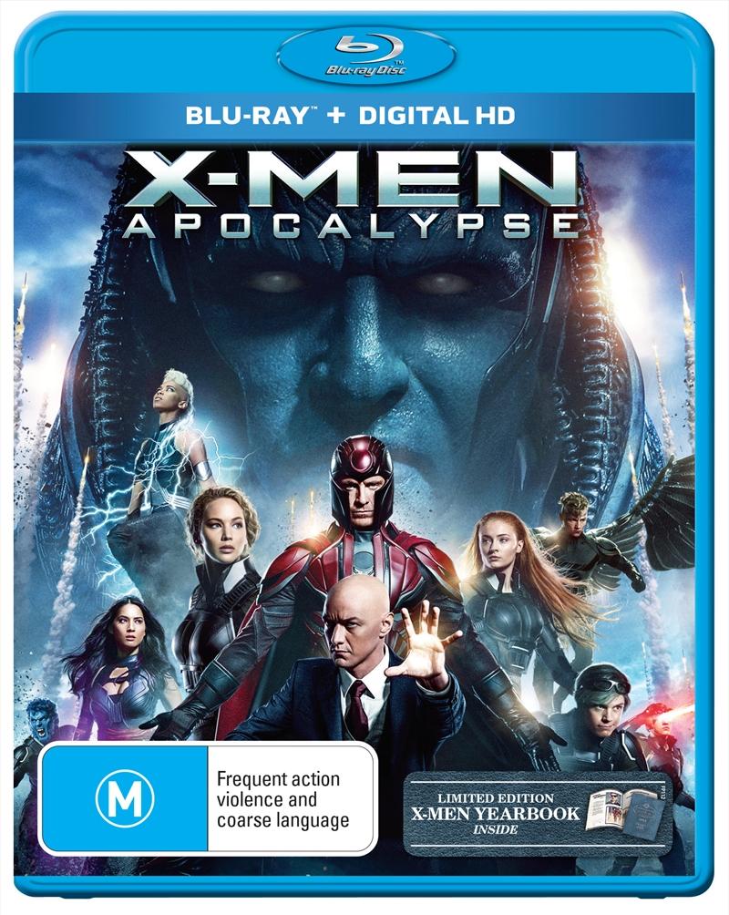 X-Men Apocalypse (BONUS YEARBOOK)