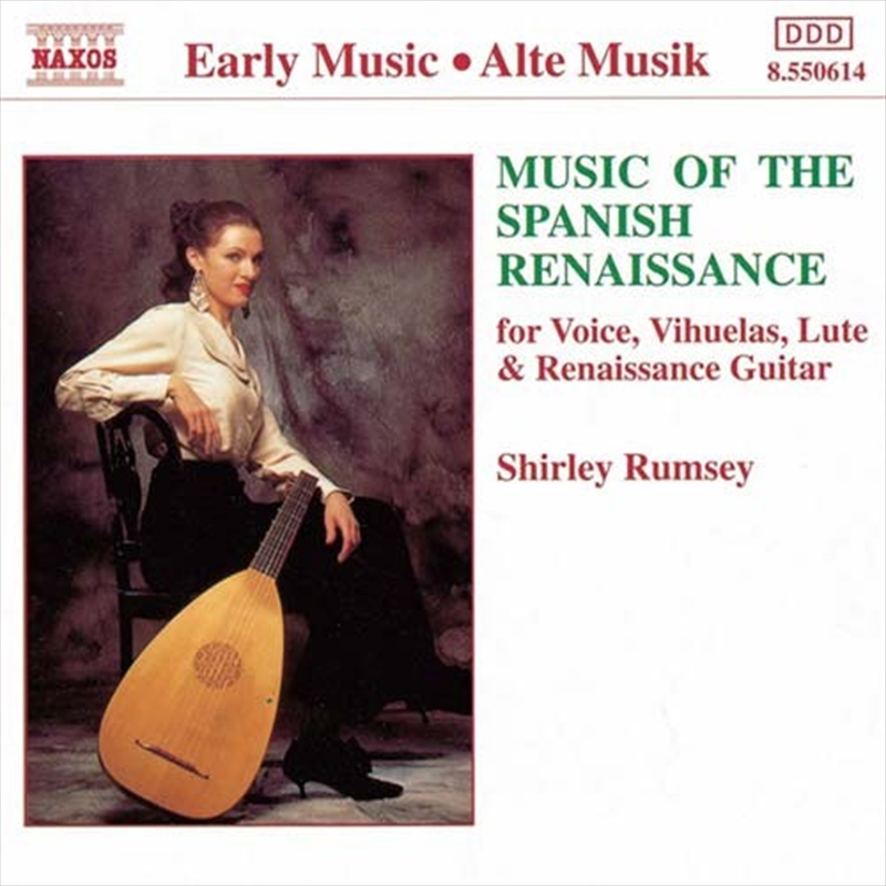 Music Of The Spanish Renaissance | CD