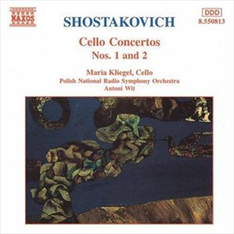 Shostakovich Cello Concertos No 1 & 2 | CD