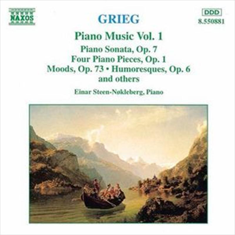 Grieg:Piano Music Volume 1   CD