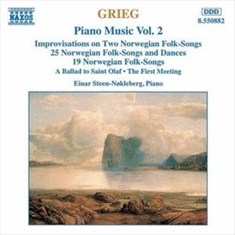 Grieg:Piano Music Volume 2 | CD