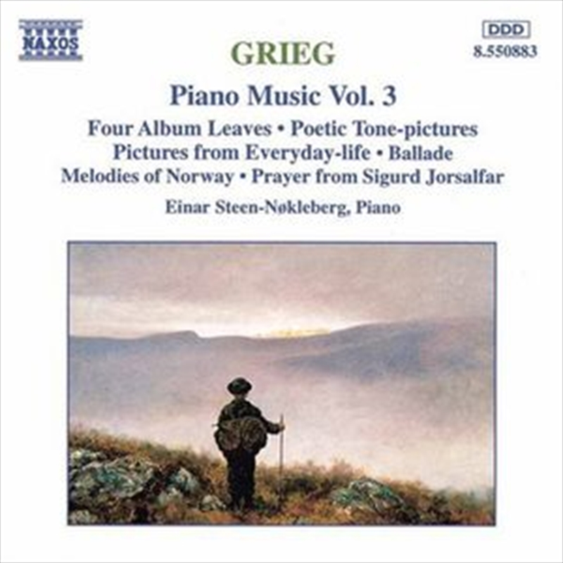 Grieg:Piano Music Volume 3 | CD