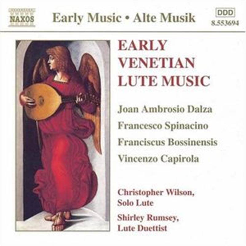 Early Venetian Lute Music | CD