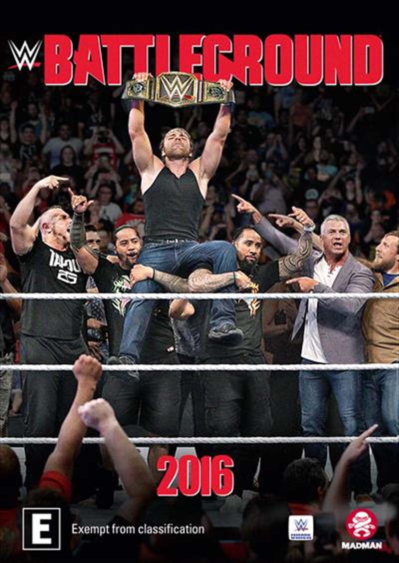 WWE - Battleground 2016 | DVD