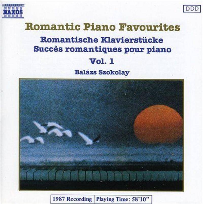 Romantic Piano Favourites   CD