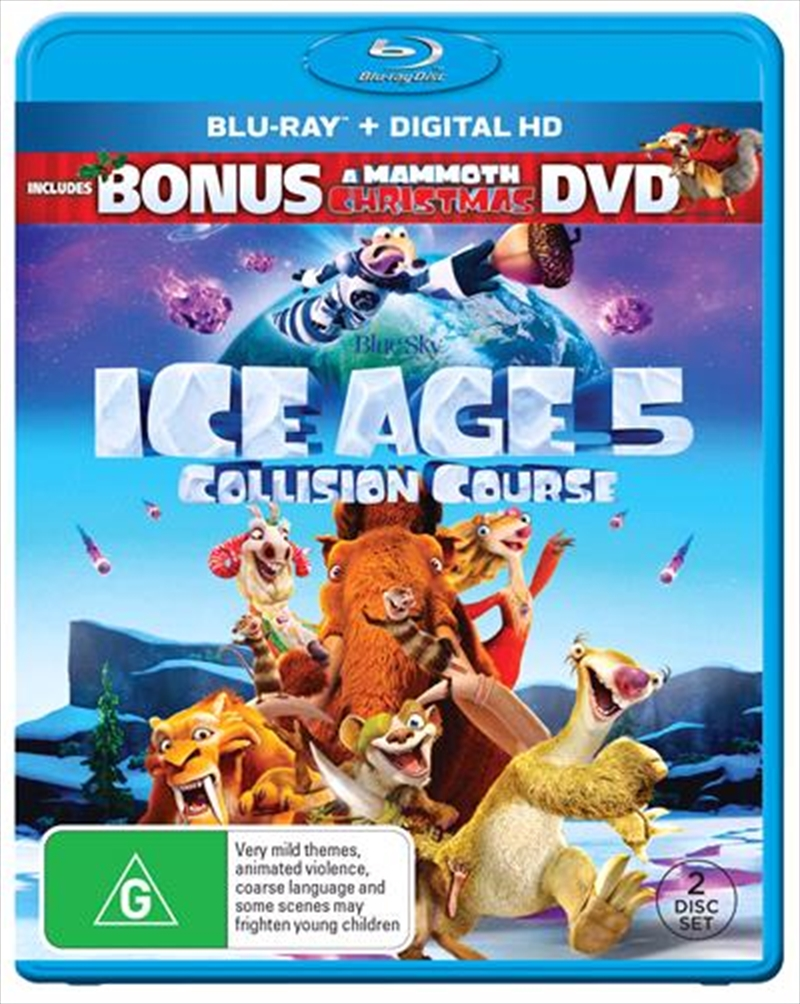 Ice Age - Collision Course | DHD - Bonus A Mammoth Christmas DVD | Blu-ray