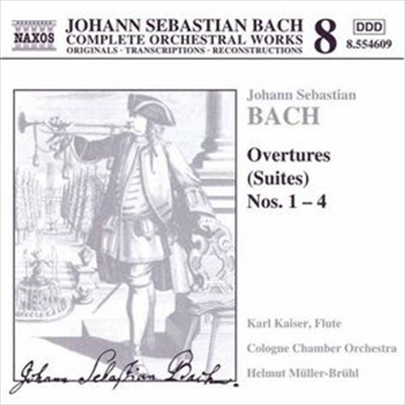 Bach Overtures (Suites) No 1-4 | CD
