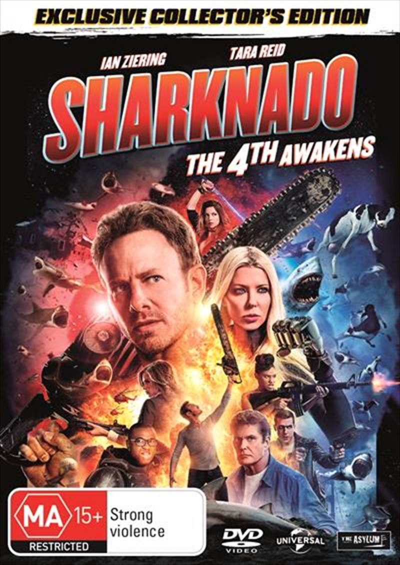 Sharknado 4 - The 4th Awakens | DVD