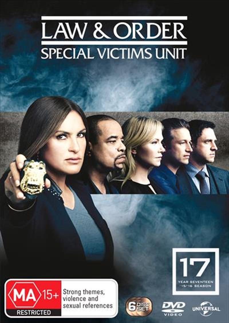 Law And Order: Special Victims Unit - Season 17 | DVD