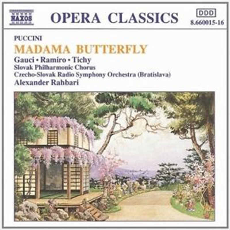 Puccini:Madama Butterfly,Compl | CD