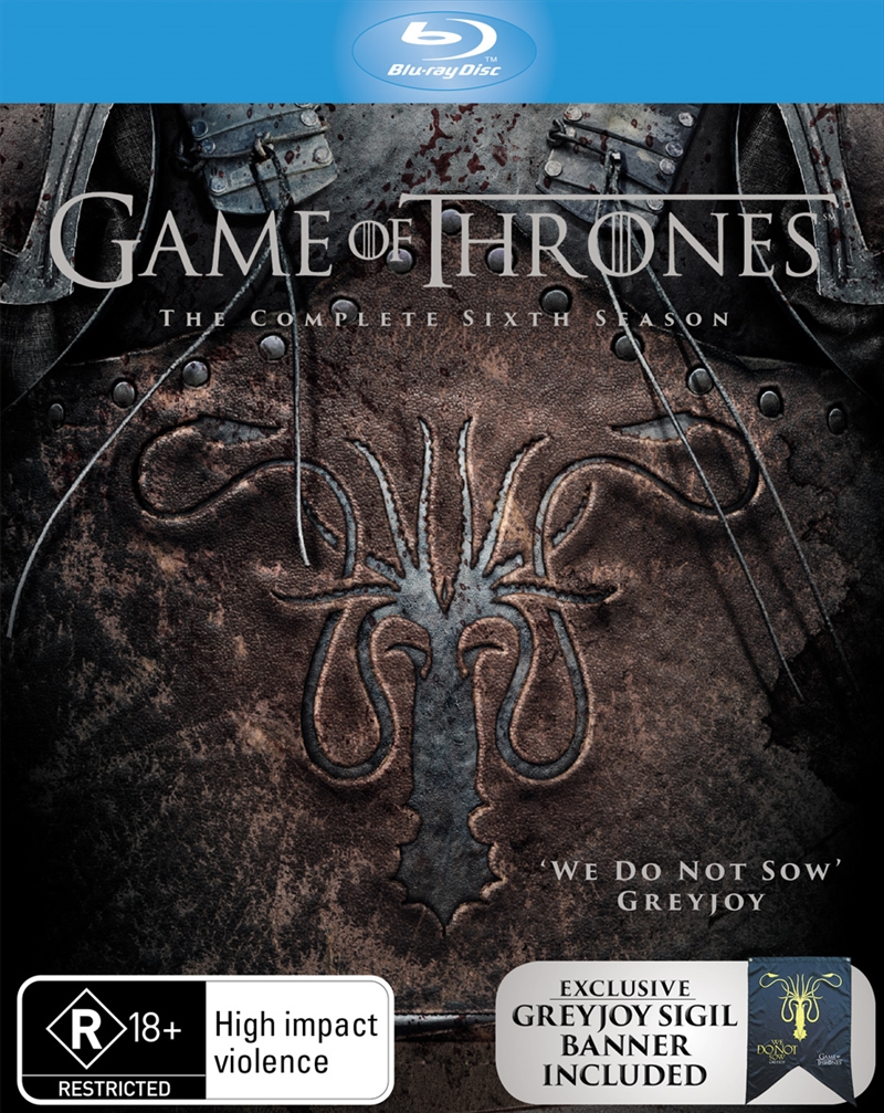 Game Of Thrones - Season 6 (EXCLUSIVE EDITION) | Blu-ray