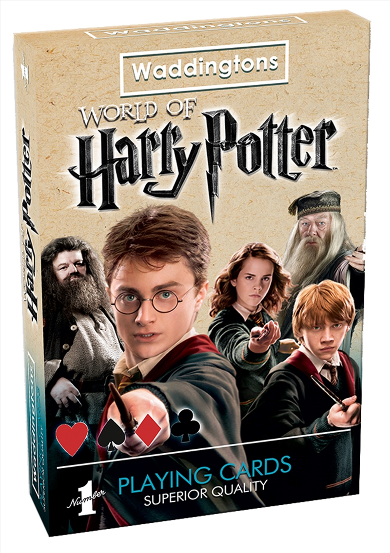 Harry Potter Playing Cards | Merchandise