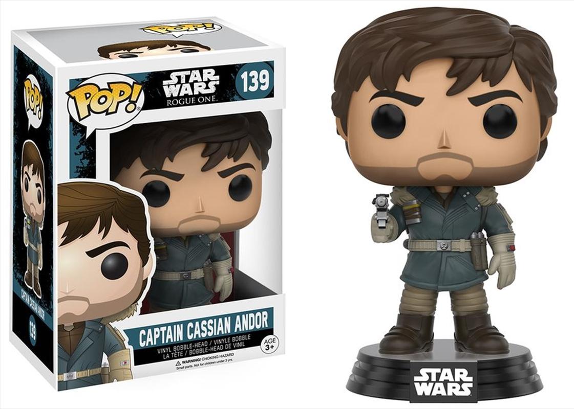 Star Wars: Rogue One - Captain Cassian Andor Pop! Vinyl | Pop Vinyl