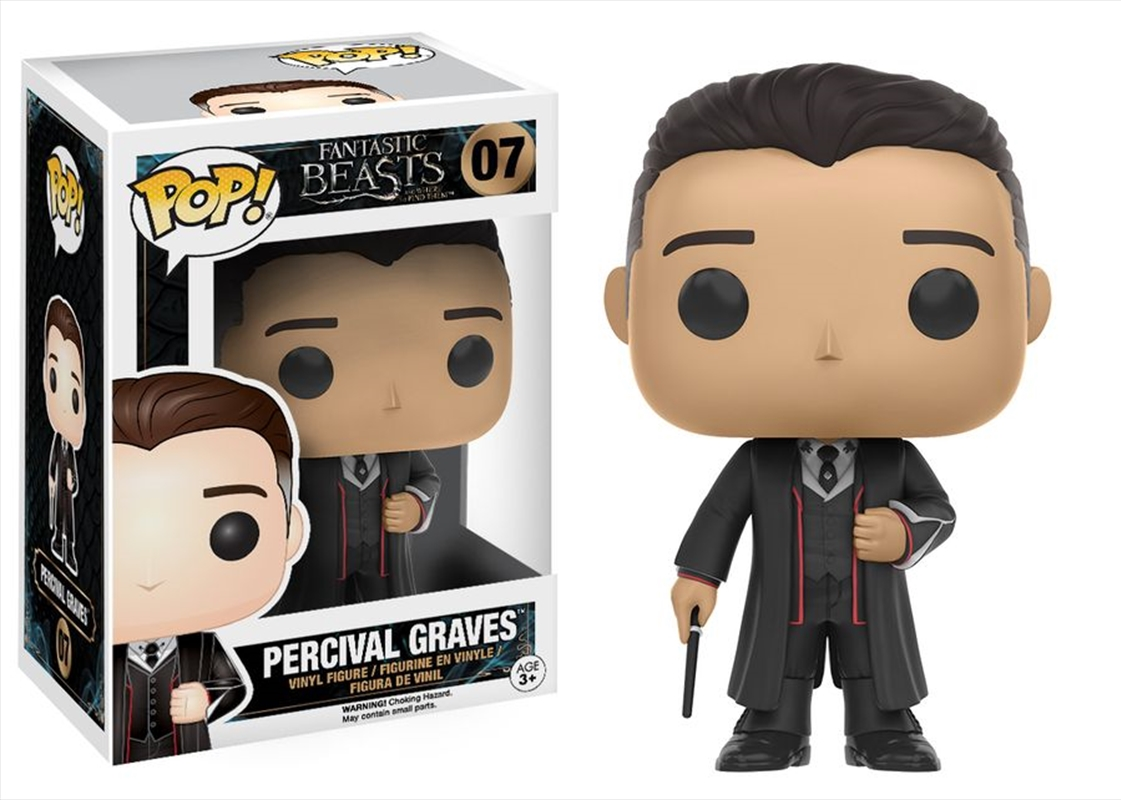 Fantastic Beasts: Percival | Pop Vinyl